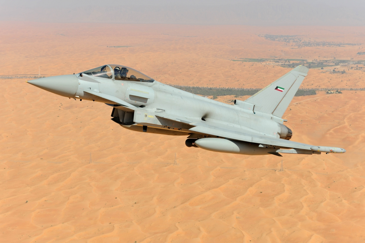 Kuwait To Purchase 28 Eurofighter Typhoon Aircraft From
