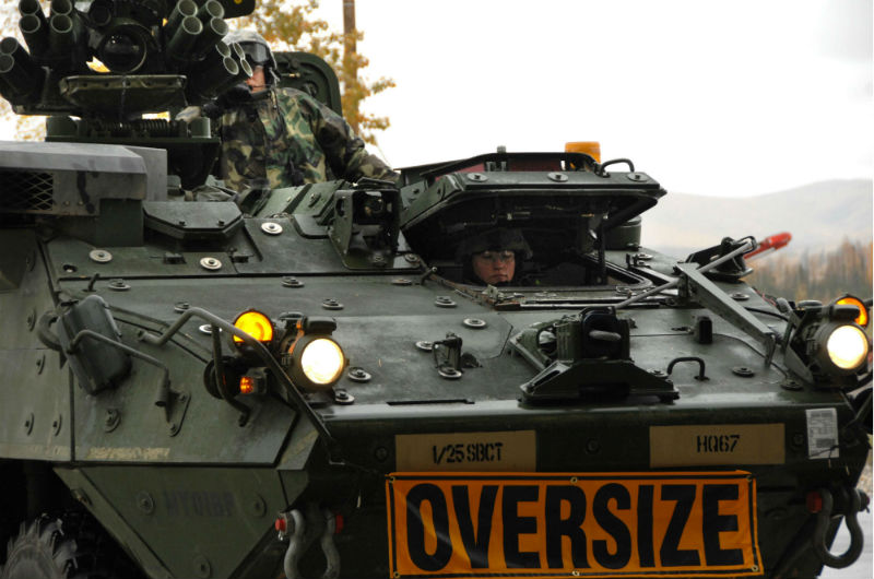 armoured vehicle stryker