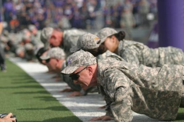 Army push ups