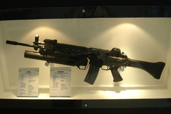 K2 assault rifle