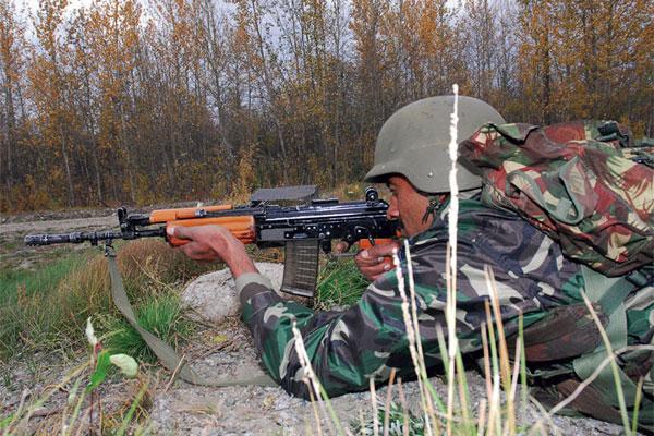INSAS assault rifle