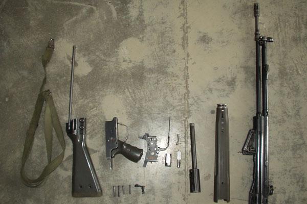 G3A3 assault rifle