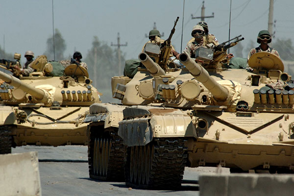 Arms embargoes on Iraq