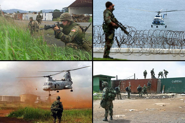 Arms embargo on Liberia