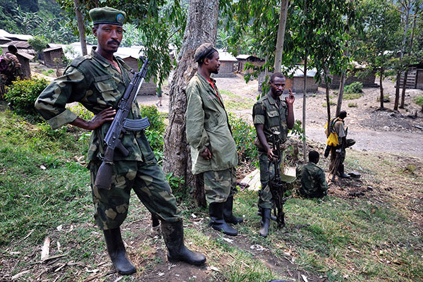 Arms embargo on Congo