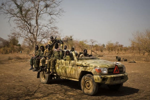 Arms embargo on Sudan