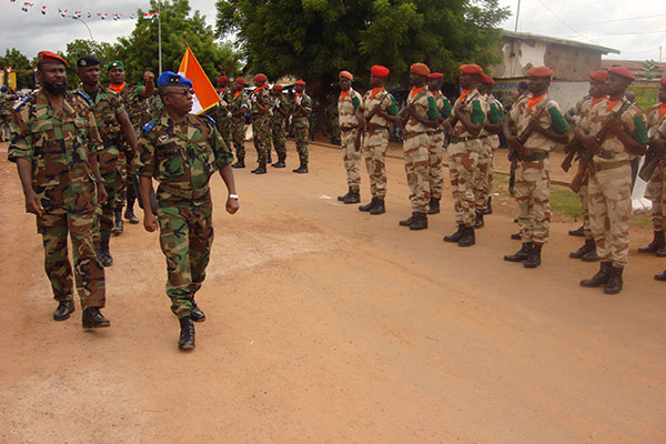 Arms embargoes on Ivory Coast