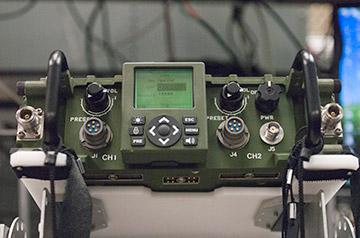AN/PRC-155 manpack radio