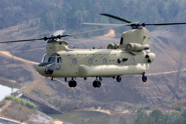 US Army Chinook Helicpoter