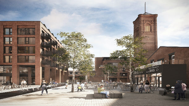 Carillion signs deal for 80m mixed use project in leeds for Home design agency leeds