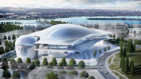 Studio fuksas and guida moseley to design convention for Architecture firms canberra