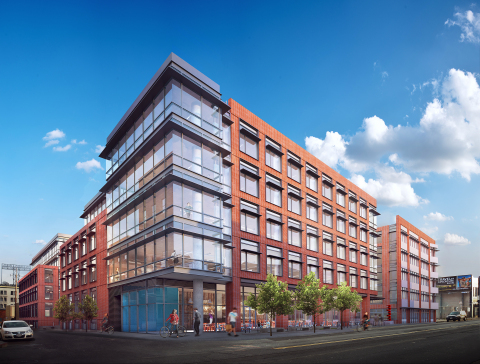 Kilroy realty starts construction on new workplace in san for Design companies in san francisco