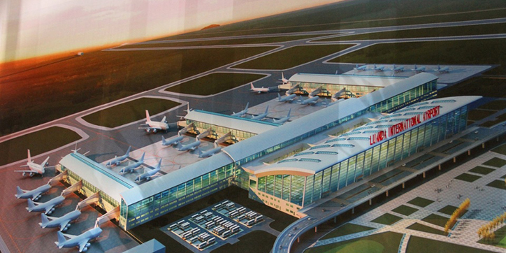 """Résultat de recherche d'images pour """"luanda, new international airport, projets"""""""
