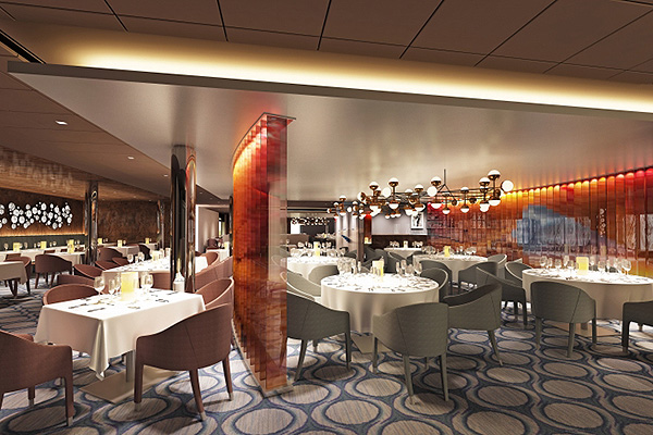 Facial recognition cruise ships dining