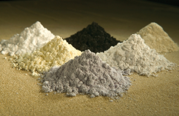 Rare earth minerals