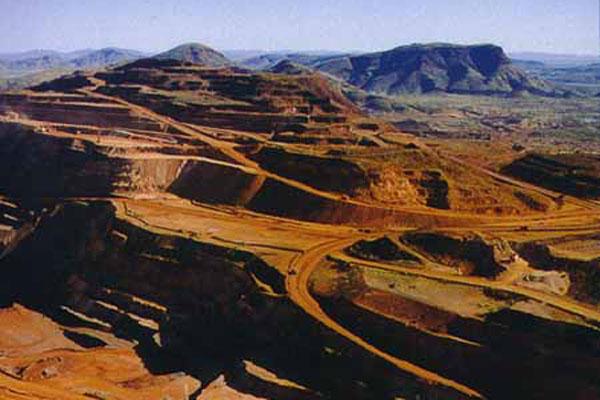Hamersley iron ore mining