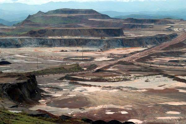 Carajas iron ore mine, Brazil