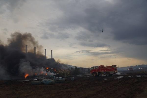 Hazelwood fire smoke