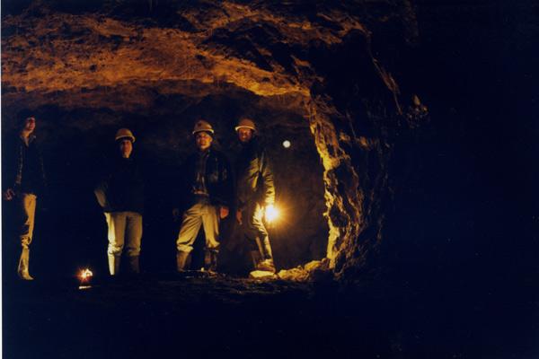 underground miners