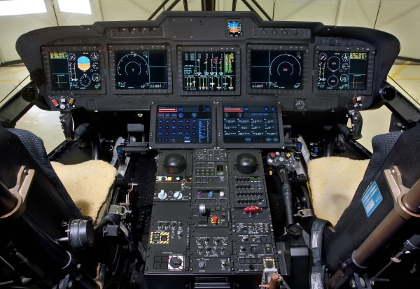 Merlin aircraft cockpit