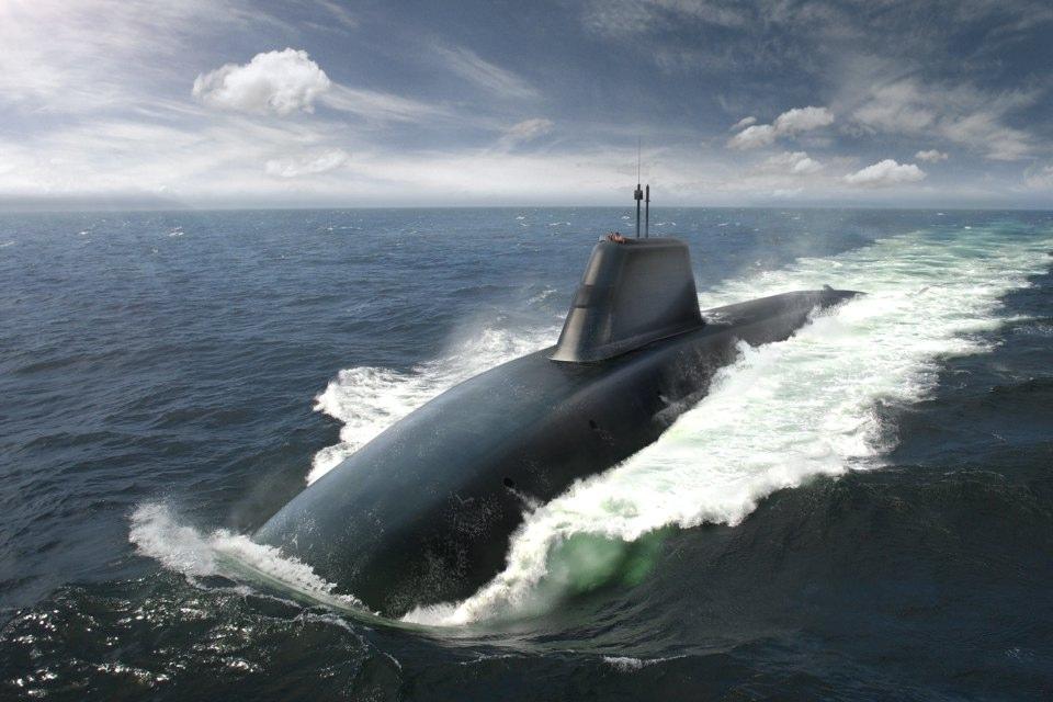 Stealth submarine
