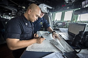 US navy submarine tracking software