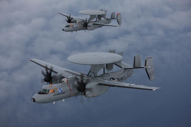 E2D aircraft