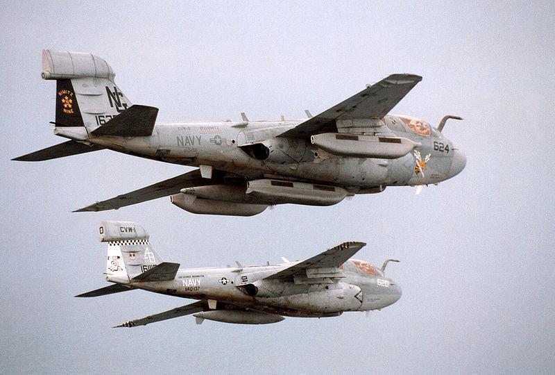 EA-6B Prowlers
