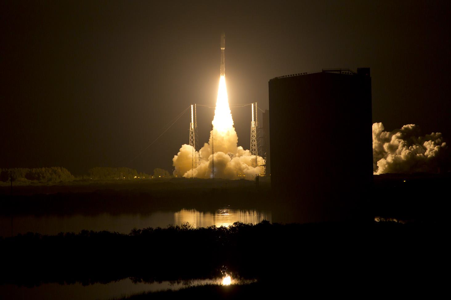 MUOS satellite launch