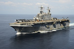 USS Pepeliu decommissioning