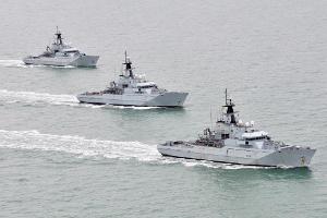 UK Navy vessels