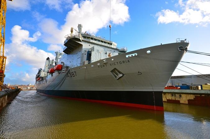 UK Victoria vessel