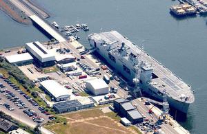 British Navy base