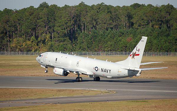P8-A Poseidon aircraft
