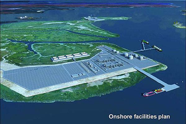 Ichthys export pipeline