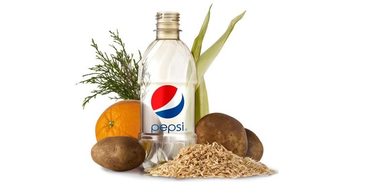 Pepsi plant-based packaging
