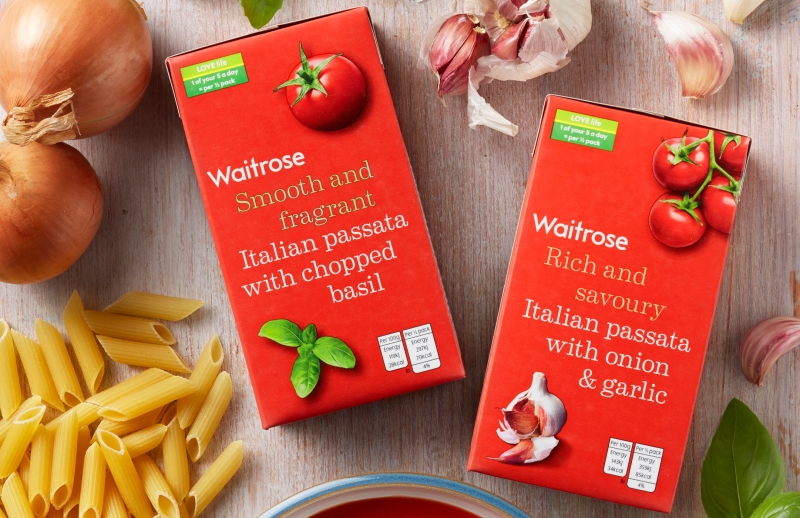 Waitrose packaging