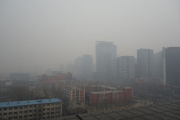 smog in Beijing china