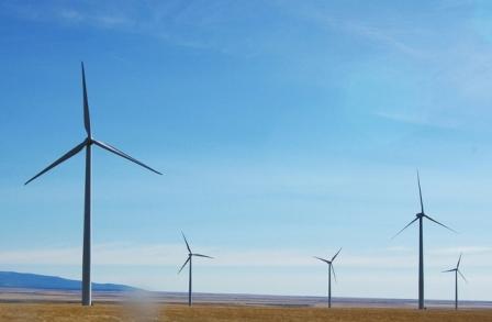 Suzlon Energy wind farm
