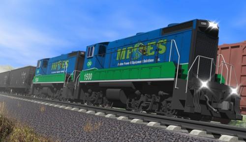 Greenville locomotive