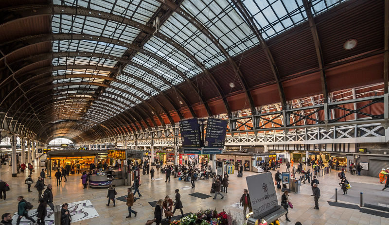 In Pictures Paddington Stations Stainless Steel Finish