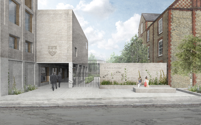 A proposal for a new £10m building at St Hilda's College, Oxford