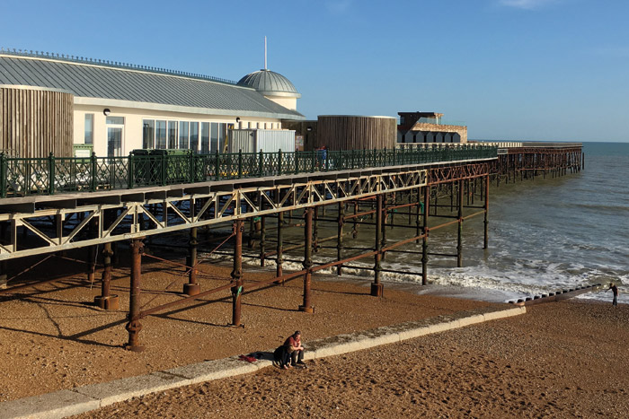 New look for Hastings Pier, provided by dRMM after winning a design competition in 2011