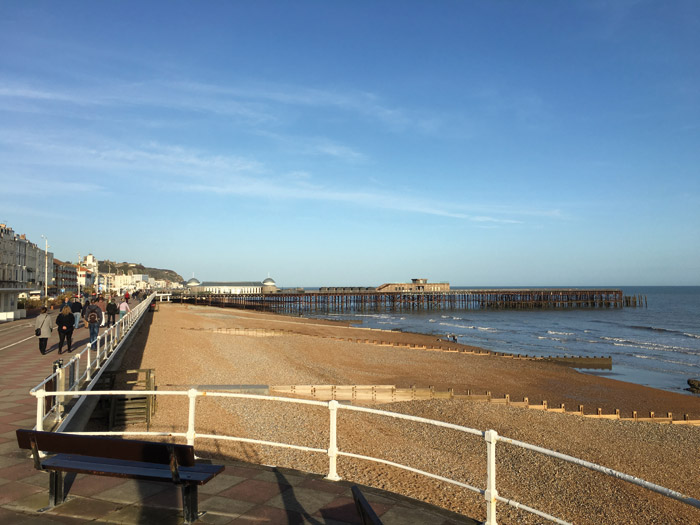 The new pier, dubbed the 'People's Pier', attracted much support from the public for its restoration and has regained its position as a key landmark for Hastings