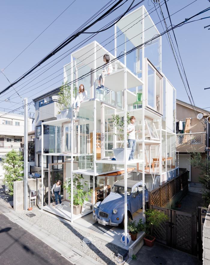 Sou Fujimoto. House NA, Tokyo, 2007–2011