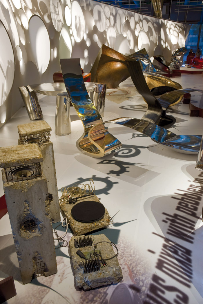 The 2008 Pompidou Exhibition, including the record player coveted by Johnny Tucker...
