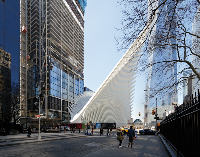 Calatrava initially intended the 'wings' to flap up and down, but that proved too expensive...