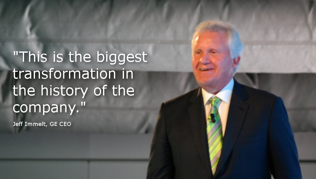 jeff immelt and the reinventing of general electric