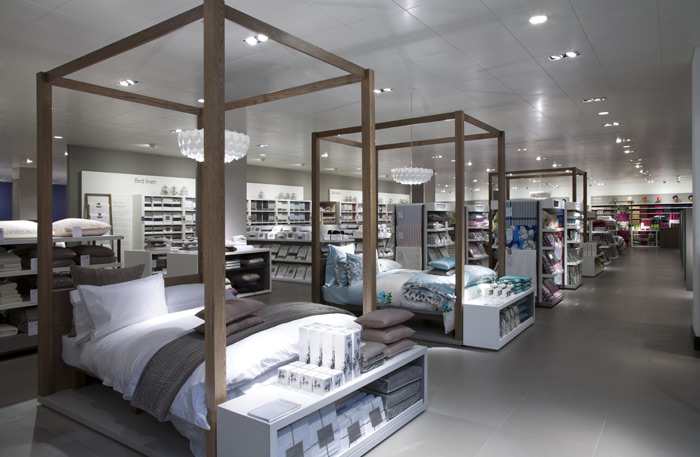 For John Lewis Home Visions at Westfield Stratford, now rolled out to all other JLP stores